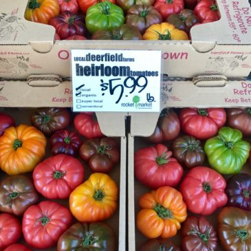 heirloom tomatoes are back!