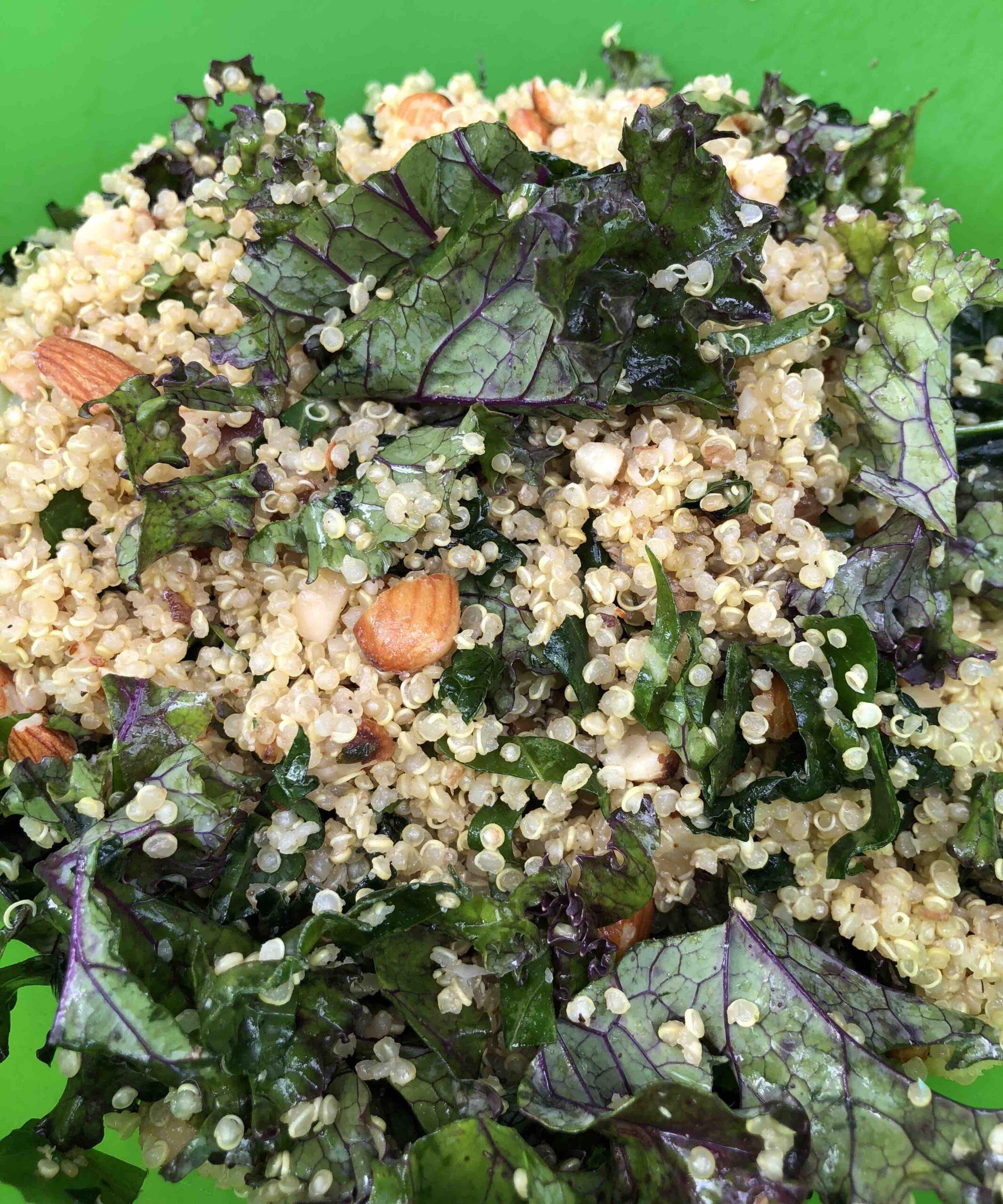 2kale quinoa salad