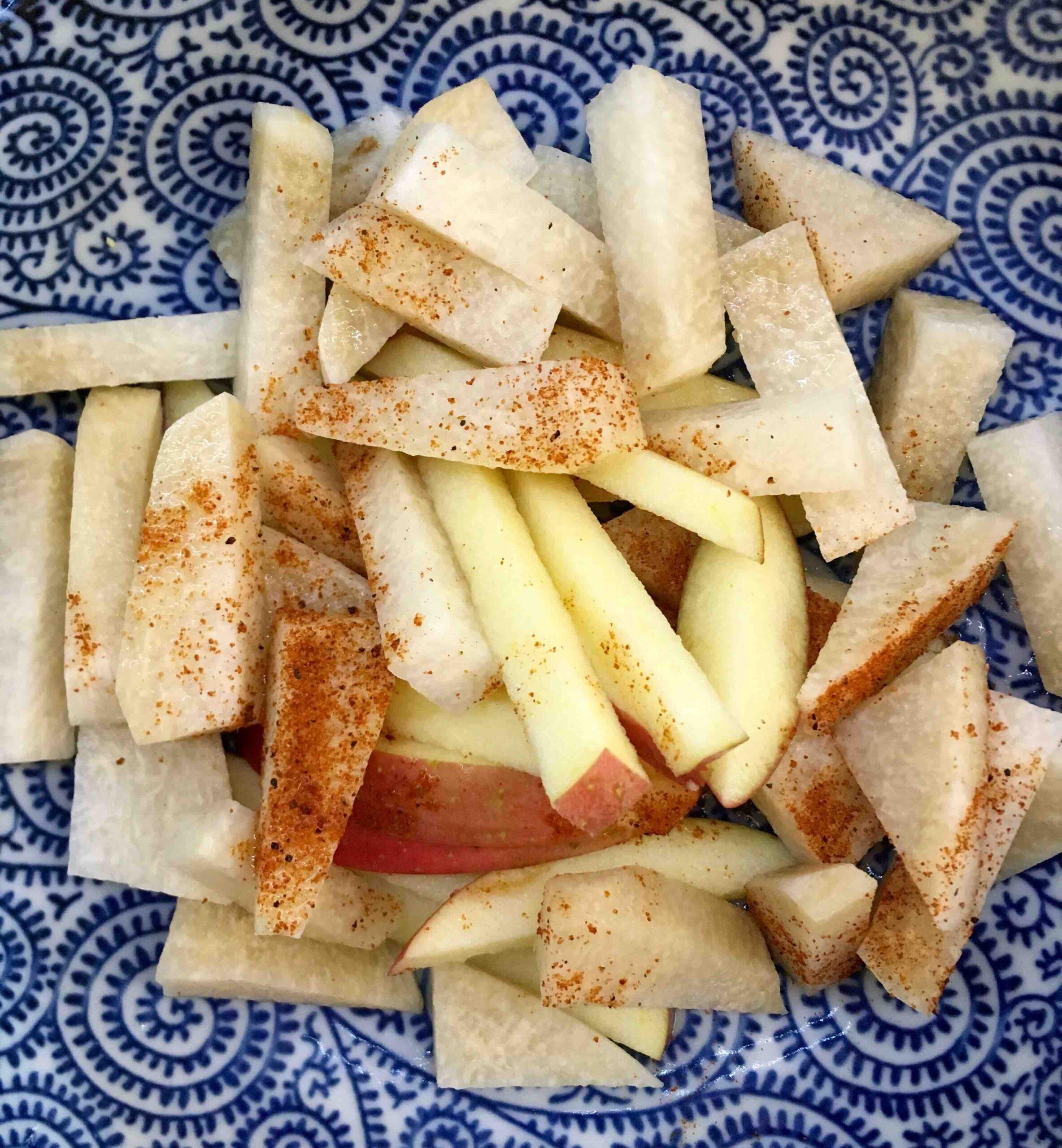 jicama apple salad