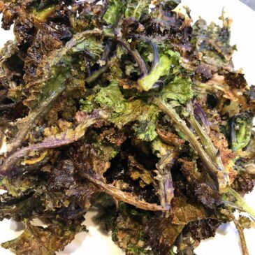 roasted kalettes